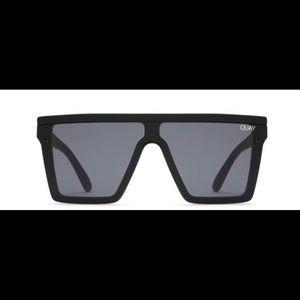 Quay Australia Hindsight Black Sunglasses